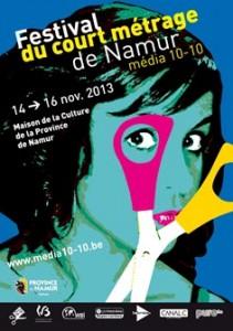 affiche festival Namur